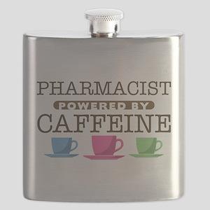 Pharmacist Powered by Caffeine Flask