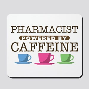 Pharmacist Powered by Caffeine Mousepad