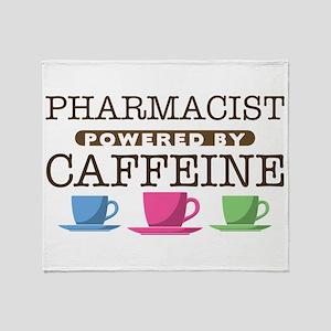 Pharmacist Powered by Caffeine Stadium Blanket