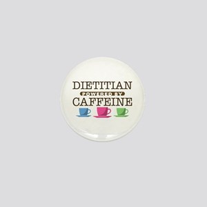 Dietitian Powered by Caffeine Mini Button