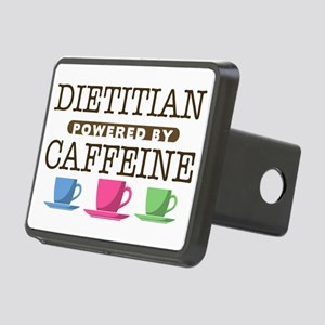 Dietitian Powered by Caffeine Rectangular Hitch Co