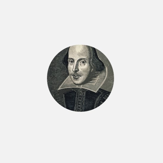 Wm Shakespeare Mini Button