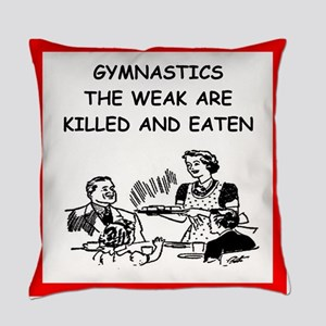 gymnastics Everyday Pillow