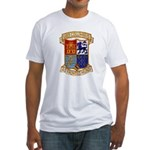 USS COLUMBUS Fitted T-Shirt