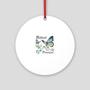 Retired Principal Round Ornament