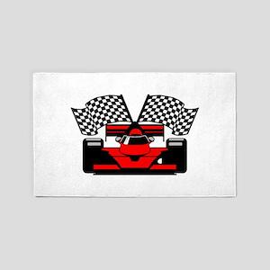 RED RACECAR Area Rug