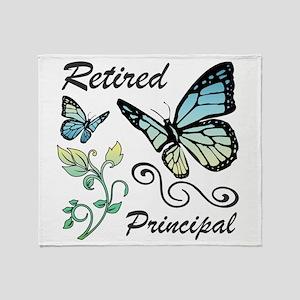 Retired Principal Throw Blanket