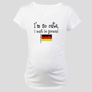 So Cute German Maternity T-Shirt