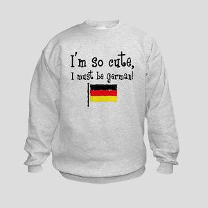 So Cute German Kids Sweatshirt