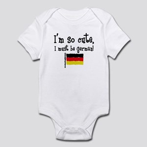 So Cute German Infant Bodysuit