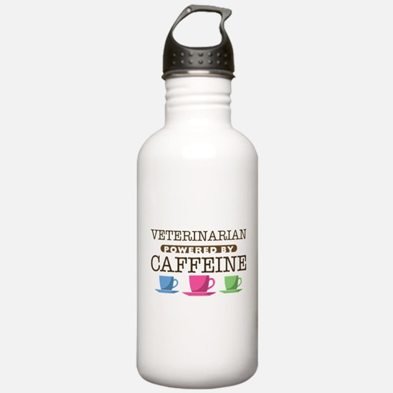 Veterinarian Powered by Caffeine Water Bottle