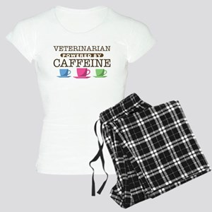Veterinarian Powered by Caffeine Women's Light Paj