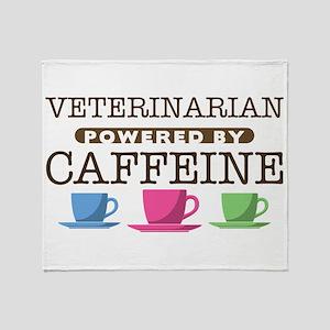 Veterinarian Powered by Caffeine Stadium Blanket