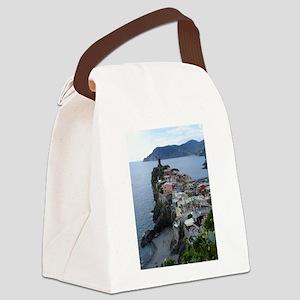 Cinque Terre Canvas Lunch Bag