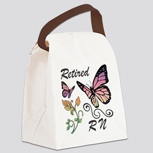 Retired Registered Nurse (RN) Canvas Lunch Bag
