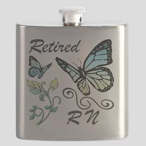 Retired Registered Nurse (RN) Flask