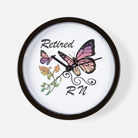 Retired Registered Nurse (RN) Wall Clock