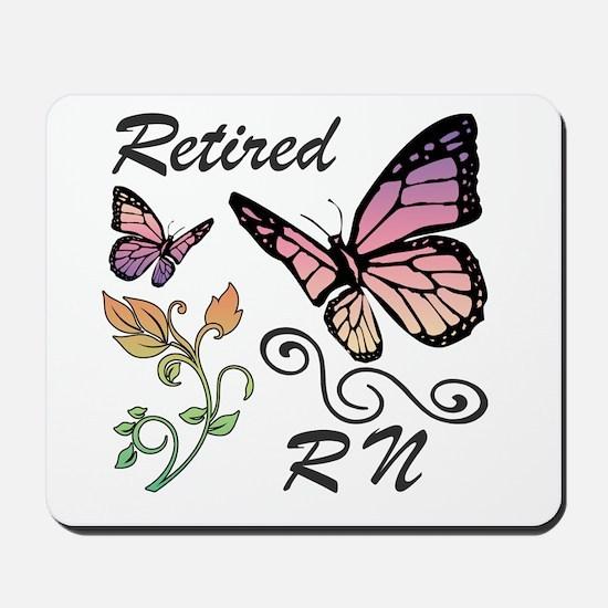 Retired Registered Nurse (RN) Mousepad
