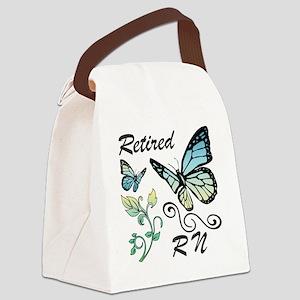 Retired Registered Nurse (RN) Canvas Lunch Bag