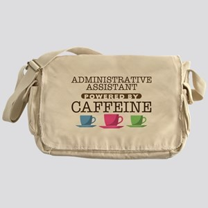 Administrative Assistant Powered by Caffeine Canva