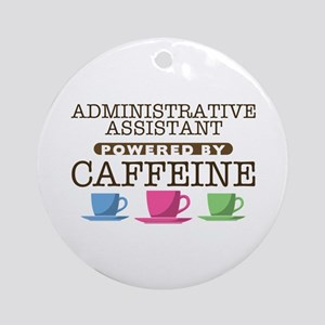 Administrative Assistant Powered by Caffeine Round