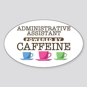Administrative Assistant Powered by Caffeine Oval