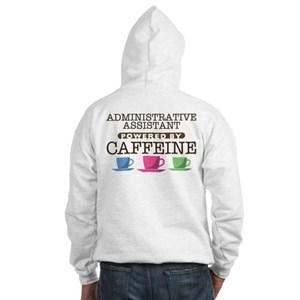 Administrative Assistant Powered by Caffeine Hoode