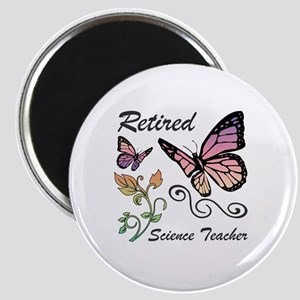 Retired Science Teacher Magnet