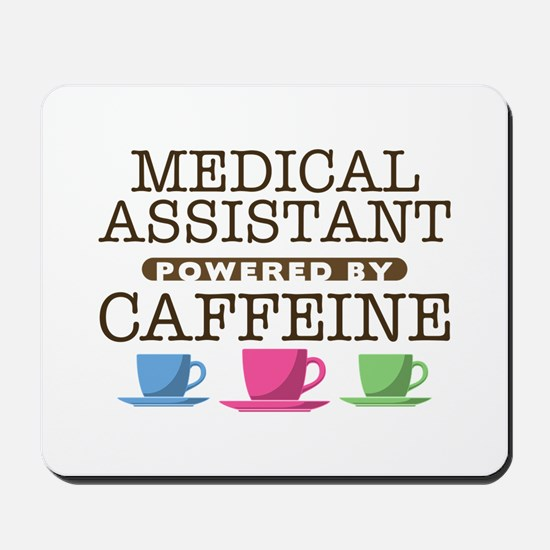 Medical Assistant Powered by Caffeine Mousepad
