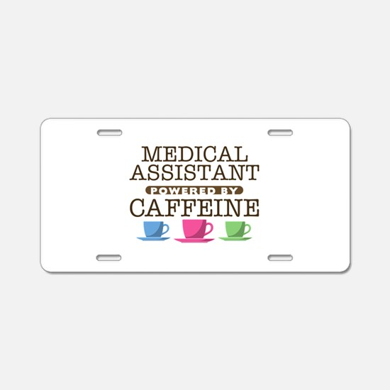 Medical Assistant Powered by Caffeine Aluminum Lic
