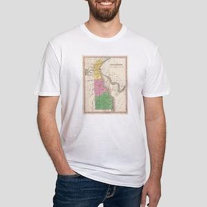 Vintage Map of Delaware (1827) T-Shirt