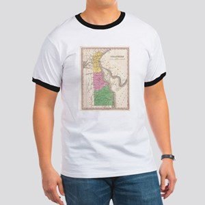 Vintage Map of Delaware (1827) T-Shirt