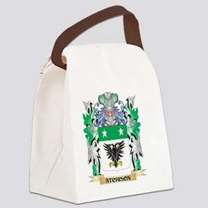 Atchison Coat of Arms - Family Cr Canvas Lunch Bag