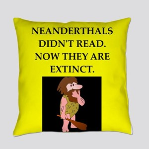 neanderthal Everyday Pillow