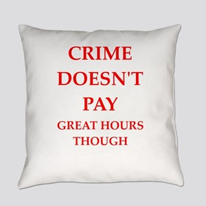 crime Everyday Pillow