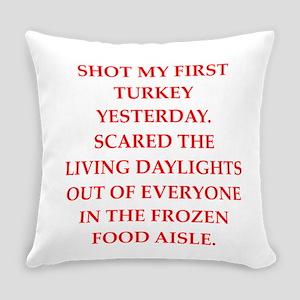 turkey shoot Everyday Pillow