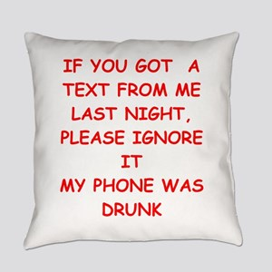 TEXT Everyday Pillow
