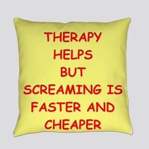 screaming Everyday Pillow