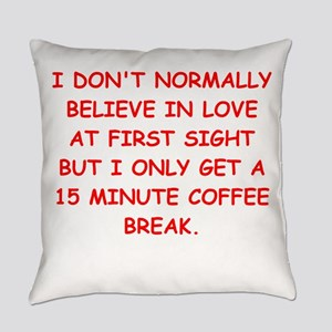 love at first sight Everyday Pillow