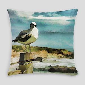 Seagull Sentry Everyday Pillow