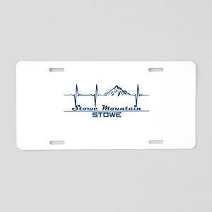 Stowe Mountain Resort - S Aluminum License Plate