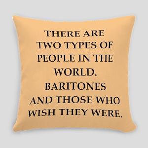 baritone Everyday Pillow