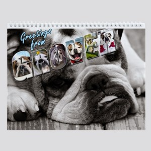 Greetings from Grover Wall Calendar
