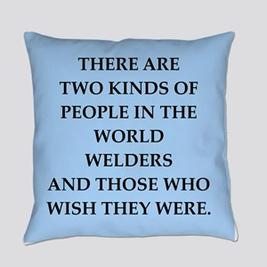 welder Everyday Pillow