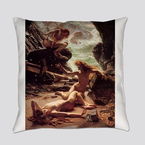 Classic nude art Everyday Pillow