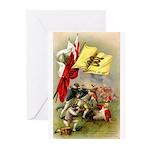 Rattle Snake Flag Cards (Pk of 10)