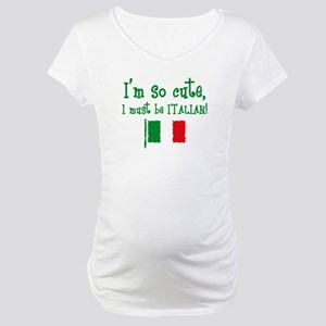 So Cute Italian Maternity T-Shirt