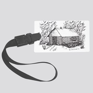 —Home, beautiful home! Large Luggage Tag