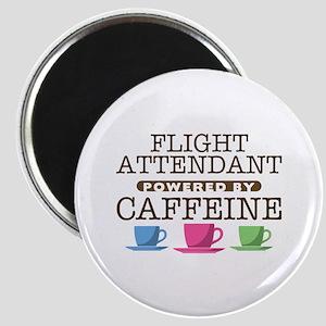Flight Attendant Powered by Caffeine Magnet