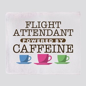 Flight Attendant Powered by Caffeine Stadium Blank